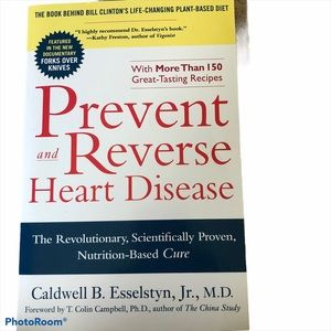 🍒2/$10🍒Prevent and Reverse Heart Disease Book